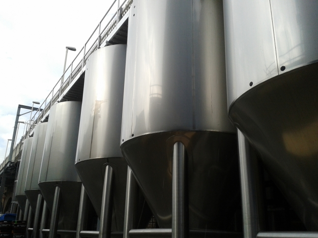 Camden fermentation tanks