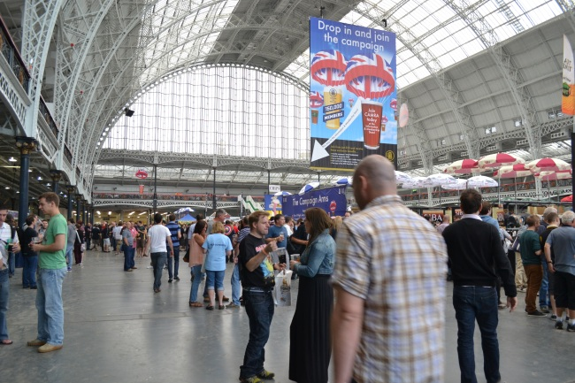 The Great British Beer Festival 2013