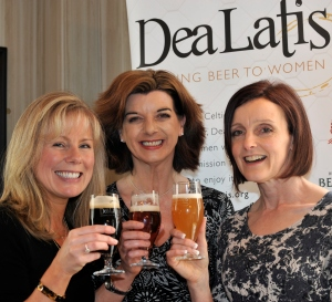 Lisa Harlow, Annabel Smith and Ros Shiel, founders of Dea Latis